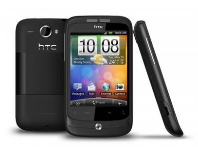 """100 x Smartphone """"WILDFIRE"""" von HTC [@meinpaket.de] für 140,91 € inkl. Versand"""