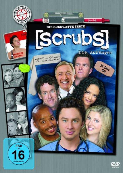 Scrubs: Die Anfänger - Die komplette Serie, Staffel 1-9 (31 Discs) für 48,97 €