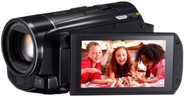Canon LEGRIA HF M56 Full-HD Camcorder (HD-CMOS PRO Sensor, WLAN, 8GB Speicher) für 219€ frei Haus