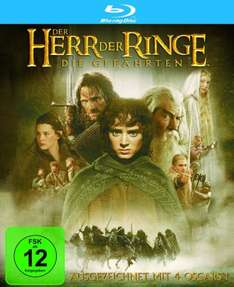 [Amazon] Herr Der Ringe 1-3 je 7,97€ [Blu-ray]