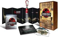 "Jurassic Park - Ultimate Trilogy / Special Edition Holzbox - Blu-Ray - bei ""media-dealer.de"""