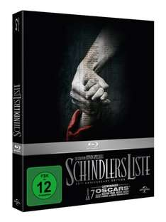 [Amazon.de] Schindlers Liste - 20th Anniversary Edition [Blu-ray] [Limited Edition]  für 12,97 €(Prime oder Hermes Shop)