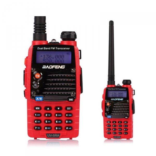BaoFeng UV-5R A Rouge 136-174 / 400-520 MHz Amateurfunk Handfunkgerät Radio