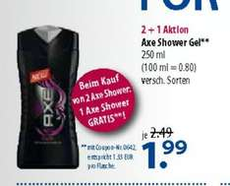 @Offline: Axe Duschgel 3er Pack für nur 3,98€ u.a. Angebote