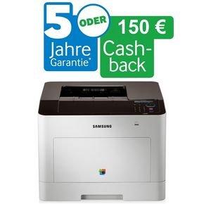 Samsung CLP-680DW + 150 EUR Cashback - Farblaser-Drucker