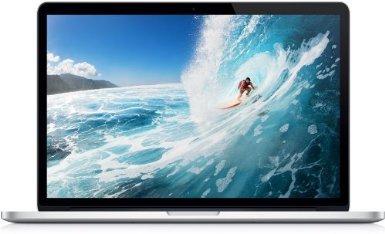 Apple MacBook Pro Retina Display 33,78 cm (13,3 Zoll) Notebook (Intel Core i5, 2.6GHz, 8GB RAM, 256GB SSD, Intel HD 4000)