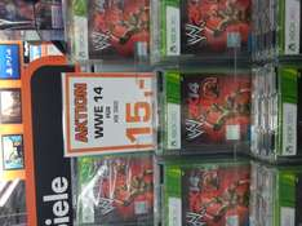 Lokal Saturn Alexanderplatz WWE 14 Xbox 360