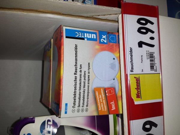 [LOKAL] Kaufland - unitec Fotoelektrischer Rauchwarnmelder 2 Stück inkl. Batterien für 7,99 Euro