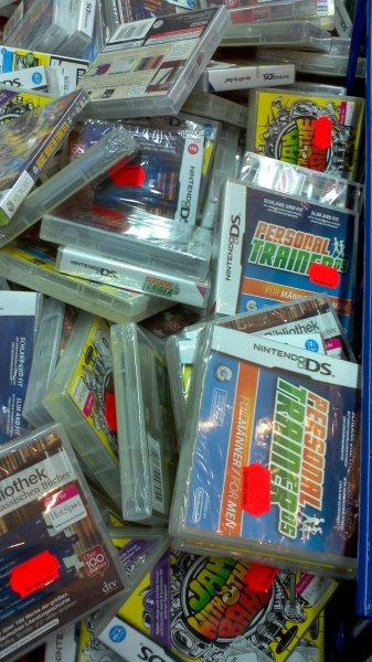 Saturn Dortmund City diverse DS Spiele (Kamellen) für 2€