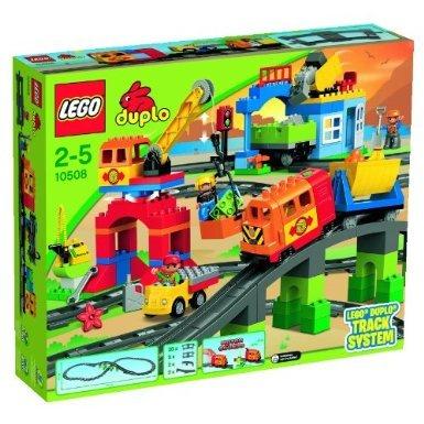 Lego Duplo Eisenbahn 10508 - Eisenbahn Super Set @Amazon 79,98€