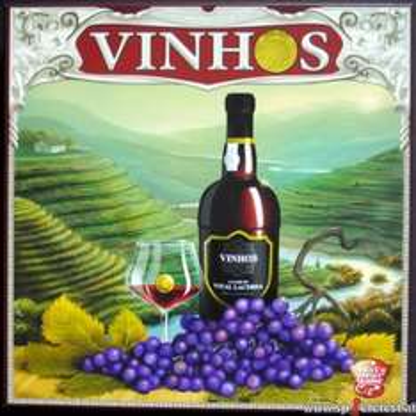 Brettspiel Vinhos
