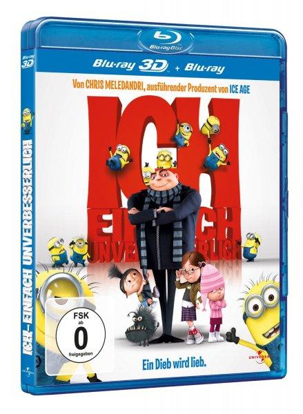 Ich - Einfach unverbesserlich  (Blu-ray 3D und Blu-ray) [buecher.de] für 10,99€ (+ evtl. Versand)