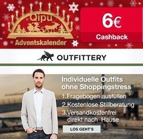 [Qipu] 6€ Cashback für kostenlose (!) Registrierung bei OUTFITTERY