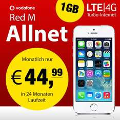 iPhone 5S 64 GB mit Red M