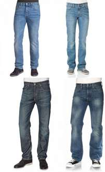 Levi's® Jeans 508® 501® 527® verschiedene Modell ab 43,85€