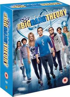Big Bang Theory 1-6 DVD Box ENG (~37 Euro) [Amazon.co.uk]