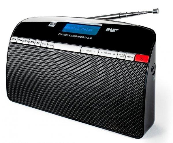 [Voelkner.de] Dual DAB 14 DAB Radio, Kofferradio, DAB+, UKW, Schwarz für 42,23€
