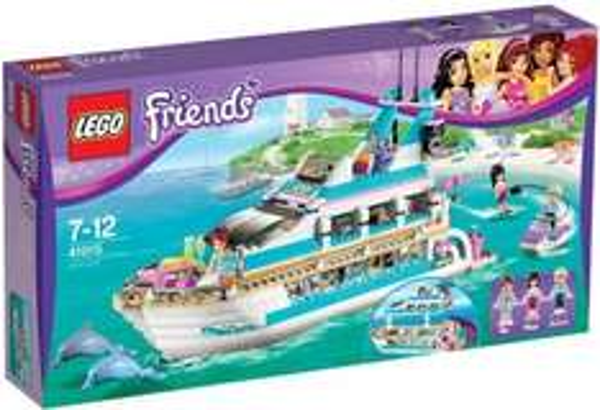 Lego Friends Yacht 41015 für 59,79€ wieder bei Amazon.de bestellbar