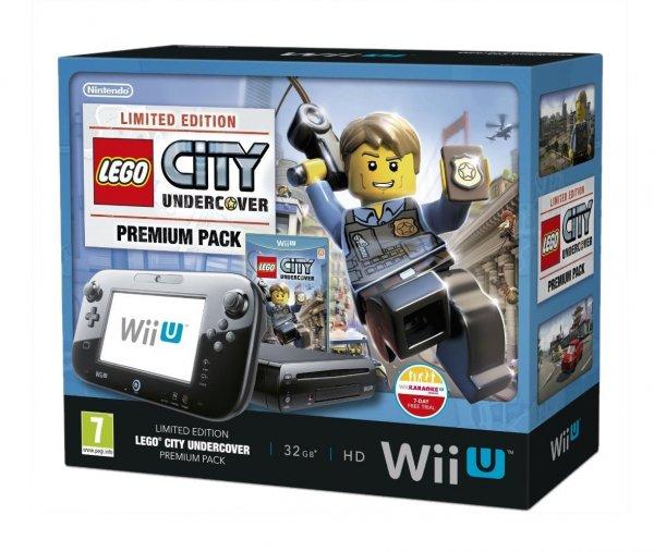 Nintendo Wii U 32GB LEGO City: Undercover Premium Pack für 242,69 €