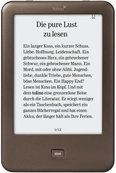 Tolino Shine + 20 EUR Geschenkkarte für 99 Euro inkl. Versand - nur Online [weltbild.de]
