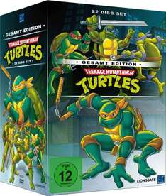 [Weltbild.de] Teenage Mutant Ninja Turtles - Gesamtedition ( 22 DVDs) o. Vsk für 39,99 €