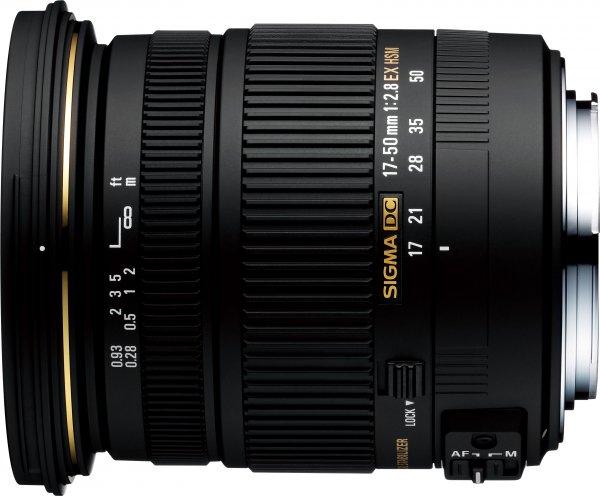 [eBay] SIGMA 17-50 mm F2,8 EX DC OS HSM Objektiv für NIKON & Canon (& Sony)