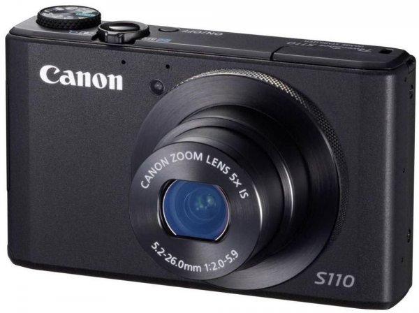 Canon PowerShot S110 für 199€ inkl. VSK, idealo ab 221€ / 229€