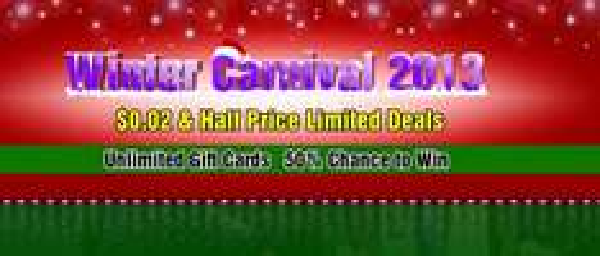 Schnäpchen Angebote bei Winter Carnival 2013 von Geekbuying