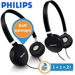 [ibood] 2 x  Philips SHL1700 Stereokopfhörer  für 25,90