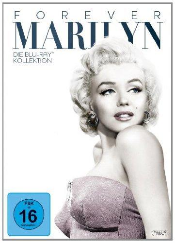 [Amazon.de] Marilyn Monroe - Forever Marilyn - Die 7 Blu-rays  Kollektion o. Vsk für 24,97 € (Bestpreis)