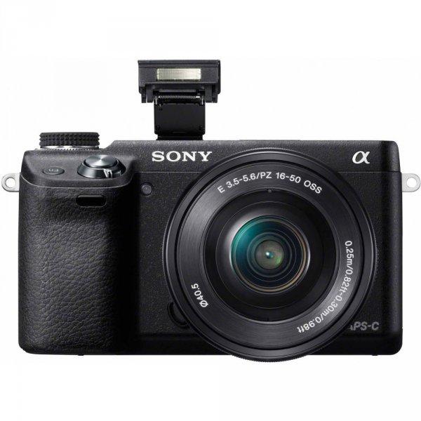 Sony Alpha NEX-6 Kit 16-50mm (NEX-6L)  für 536,58 € @Amazon.co.uk
