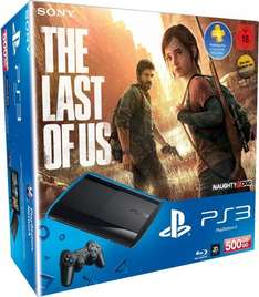 "PlayStation 3 (SuperSlim) inkl. Wireless Controller - 500GB + ""The Last of Us"" @Amazon.de"
