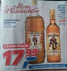 Captain Morgan 1,5 Liter Limited Edition Flasche @real