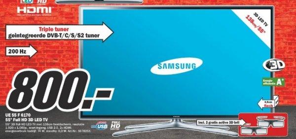 Samsung UE55F6170 138 cm 800€ Lokal [MM Herzogenrath]