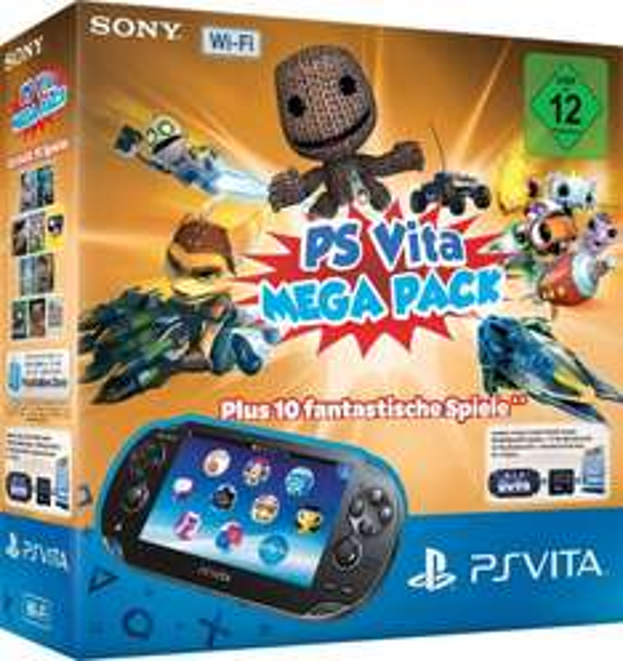 PS Vita WiFi Megapack 10 Spiele 16GB Speicherkarte @amazon.de / 150,-€ @ Mediamarkt