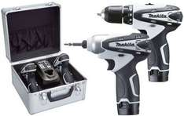 [Amazon.fr] Makita LCT204W 10,8V Li-Ion Akkuschrauber Set DF330D / TD090D inkl. Vsk für 168,17 €