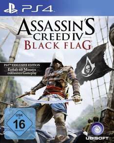 Assassin's Creed 4: Black Flag - Bonus Edition für PlayStation 4 nur 49,99 Euro