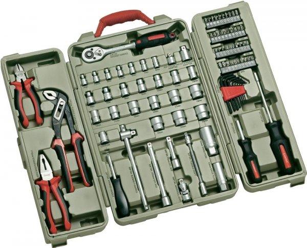 """Crescent CTK88EU Werkzeugset 88-teilig (3/8"""") + (1/4"""") € 31,95 (inkl. Versand) @ voelkner.de"""