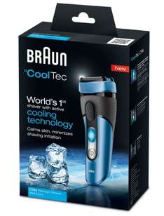 Braun CoolTec CT4s kabelloser Wet & Dry Rasierer @ AMAZON [EUR 71,99 ]