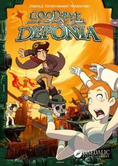 [STEAM] Goodbye Deponia - Premium Edition @ Amazon.de