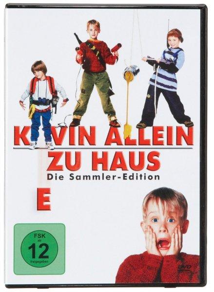 [Amazon.de] Kevin allein zu Haus 1-4 [DVD] - für 9,97€ mit Prime und 12,97€ sonst