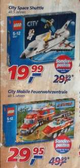 [Real Filiale] - Lego City Set's zum Bestpreis
