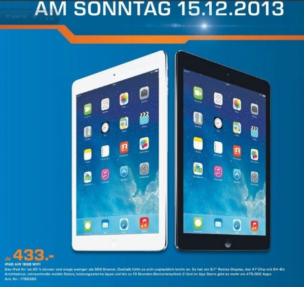 iPad Air 16GB WiFi 433€ Lokal [Saturn Köln Porz] Viele TAGESANGEBOTE 13-18 Uhr!