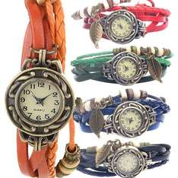 Vintage-Armbanduhr für 18,90€ bei lesara