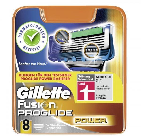 Gillette Fusion ProGlide Power Styler  + 8 Gillette Fusion ProGlide Power Klingen für 31,78€ Mit dem 8€ Aktionsgutschein
