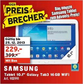 SAMSUNG Galaxy Tab3 10.1 16GB WiFi weiß [Schweiz]