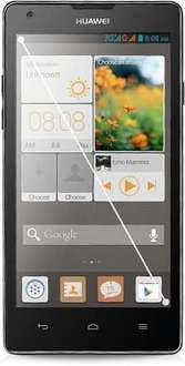 Huawei Ascend G700 schwarz [1,2GHz QuadCore, 2GB RAM, 8GB ROM, Android 4.2]
