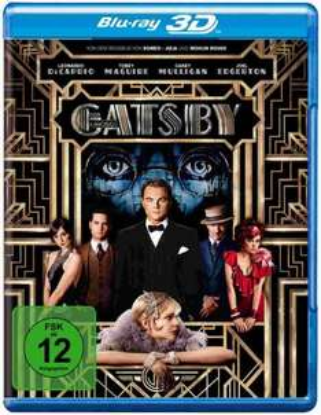 Der große Gatsby DVD für 5€ / Blu-Ray für 9€ / 3D Blu-Ray für 19€