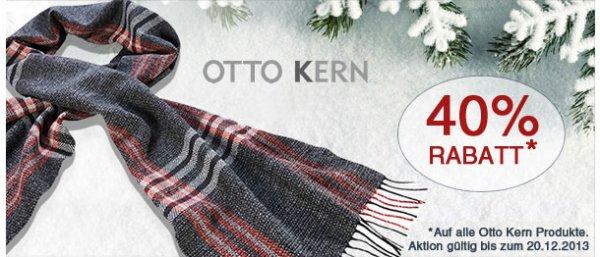 -20% auf Hemden von Olymp, -40% auf Hemden von Otto Kern