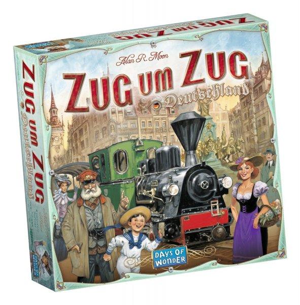 Days of Wonder Zug um Zug Deutschland 22,99€ (Neukunden für 19,99€) inkl. Versand (Idealo 35,90€)